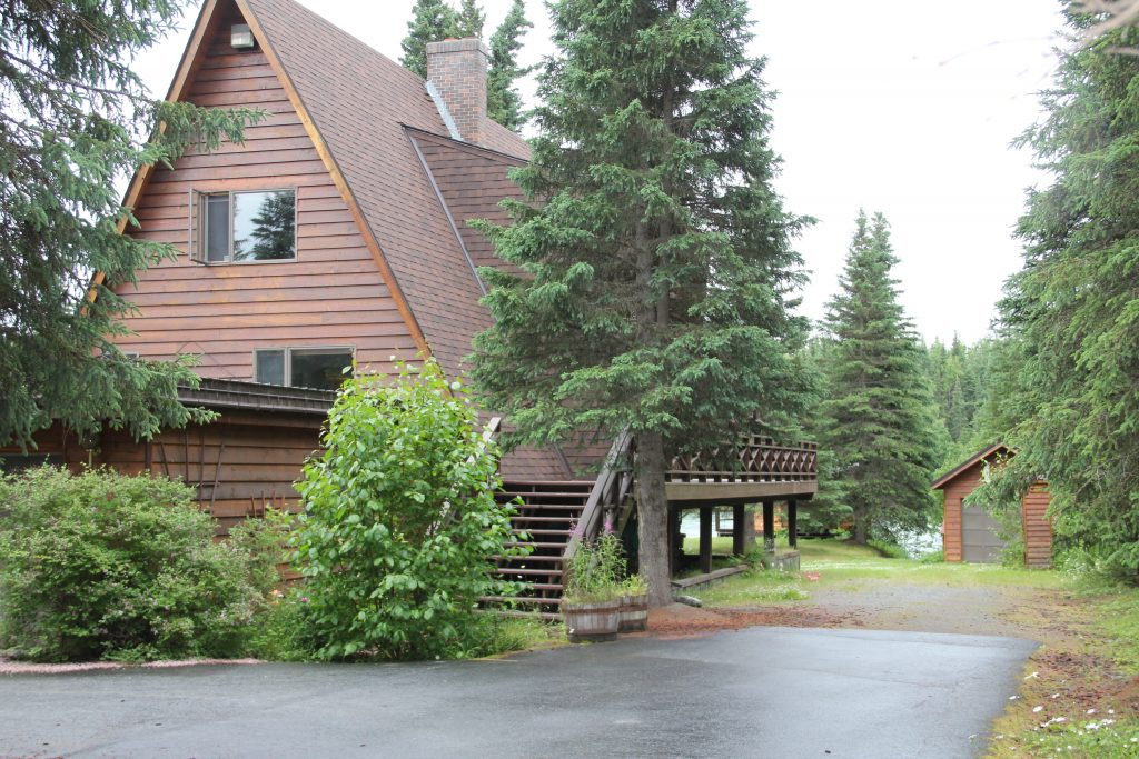 Main Lodge Back
